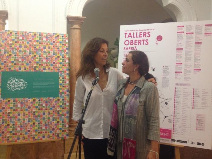 Ana Tiana y Lourdes Arqués